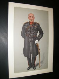 Vanity Fair Print 1901 Surgeon-General Jameson, Military